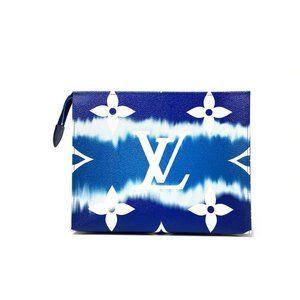 Louis Vuitton Escale Toiletry Pouch 26 in Blue
